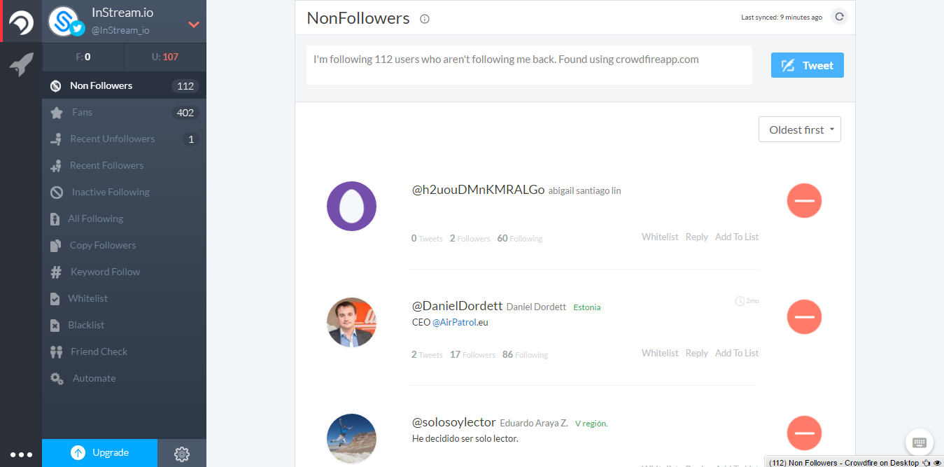 how to delete twitter followers in bulk